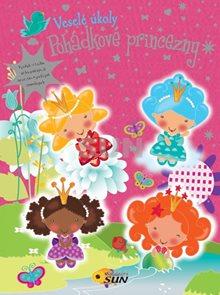 Zábavné úkoly - Pohádkové princezny - samolepky
