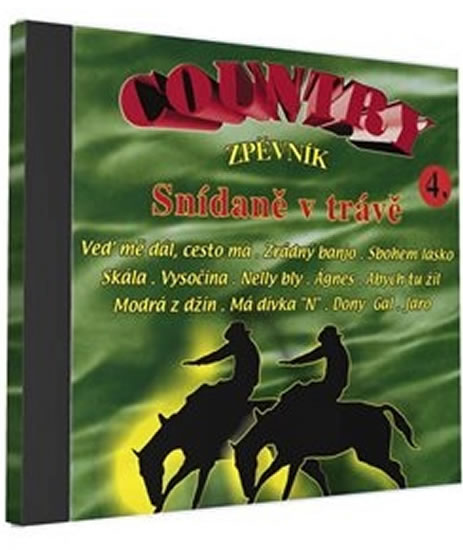Country zpěvník 4 - 1 CD - neuveden - 12,5x14,2