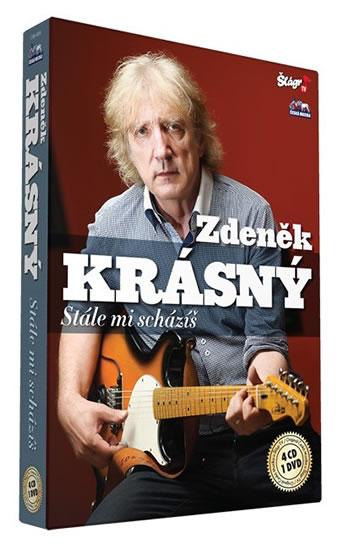 Krásný Zdeněk - Stále mi scházíš - 4CD+DVD - neuveden - 13,5x19,2