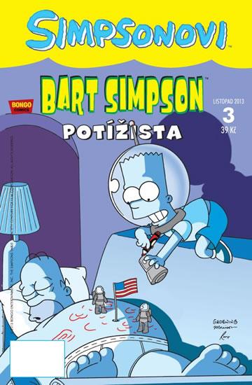 Simpsonovi - Bart Simpson 3/2013 - Potížista - Groening Matt - 16,8x25,8