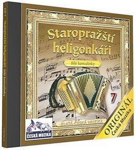 Staropražští heligonkáři - Bilé konvalinky - 1 CD