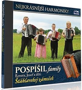 Pospíšil family - Šťáhlavskej zámečku - 1 CD
