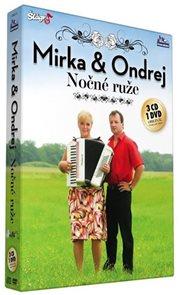 Mirka a Ondrej - Nočné ruže - CD+DVD