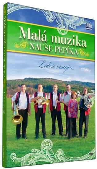 Malá muzika Nauše Pepíka - Lodi se vracejí - DVD - neuveden - 12,5x14,2