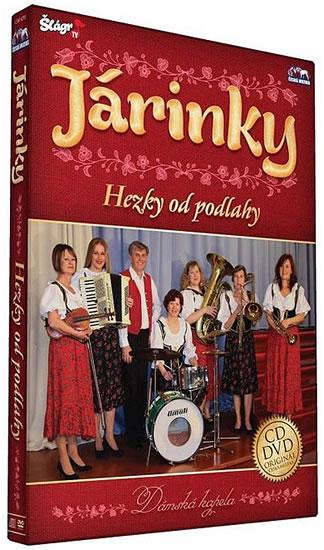 Járinky - Hezky od podlahy - CD+DVD - neuveden - 13,5x19