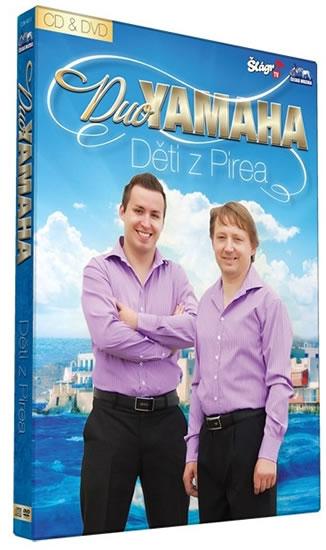Duo Yamaha - Děti z Pirea - CD+DVD - neuveden - 13,5x19
