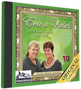 Eva a Vašek 10 - Každý jednou velkou lásku potká - 1 CD