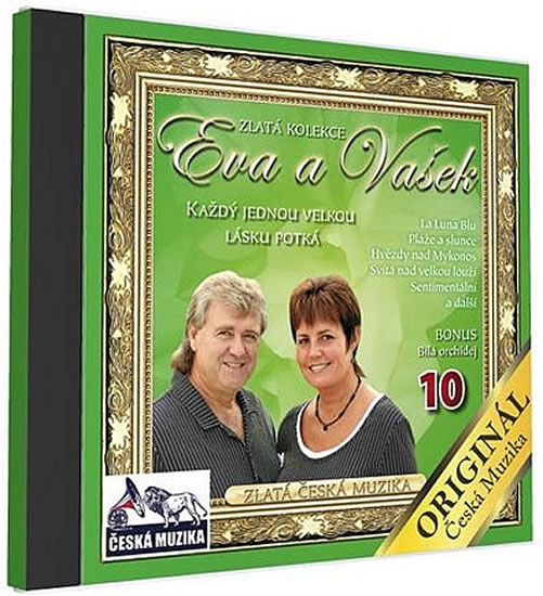 Eva a Vašek 10 - Každý jednou velkou lásku potká - 1 CD - neuveden - 12,5x14,2