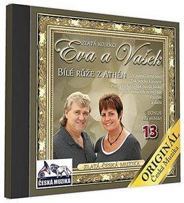 Eva a Vašek 13 - Bilé růže z Athén - 1 CD