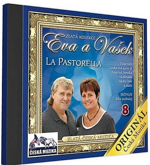 Eva a Vašek 8 - La Pastorella - 1 CD - neuveden - 12,5x14,2