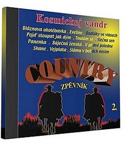 Country zpěvník 2 - 1 CD - neuveden - 12,5x14,2