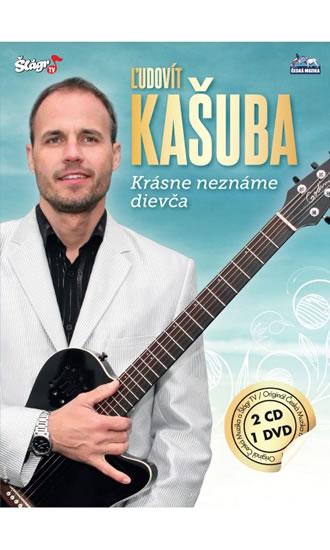 Ludovít Kašuba - Krásné neznáme dievča - 2CD+DVD - neuveden - 13,6x19,1