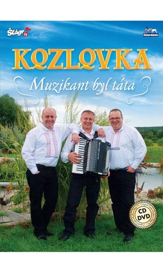 Kozlovka – Muzikant byl táta - CD+DVD - neuveden - 13,7x19,1