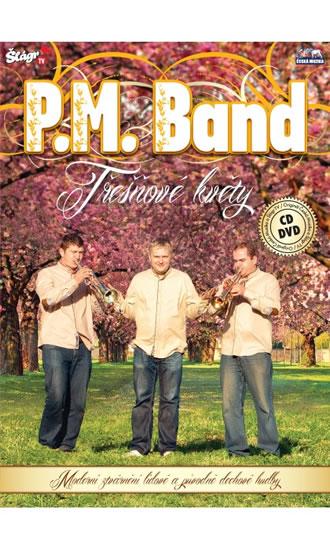 P.M.Band - Třešňové květy - CD+DVD - neuveden - 13,7x19,1