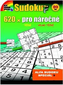Sudoku 9 - 620x sudoku pro náročné