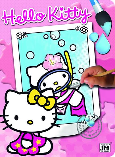 Hello Kitty 1 - Vodové omalovánky A4 - neuveden - 19,5x26,5