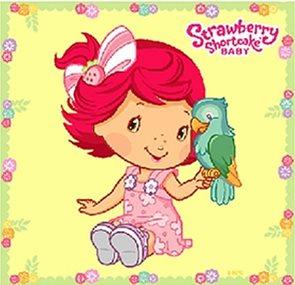 Strawberry baby - omalovánky pro nejmenší