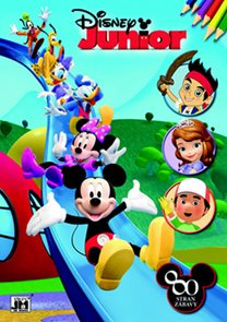 Disney Junior - Omalovánky 80 stran