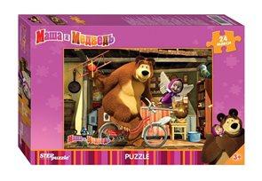 Puzzle maxi 35 Máša a Medvěd