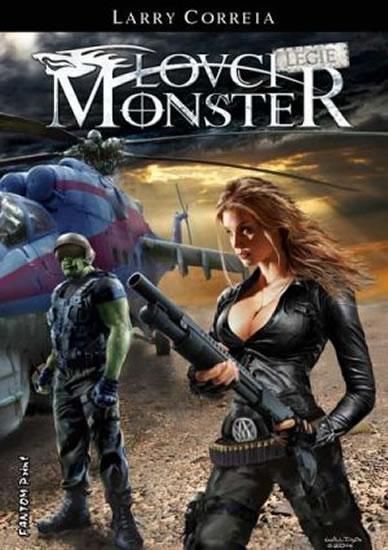 Lovci monster 4 - Legie - Correia Larry - 14,5x20,5