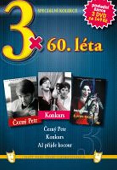 3x DVD - 60. léta - neuveden - 14,9x21