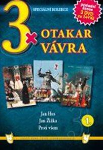 3x DVD - Otakar Vávra 1.