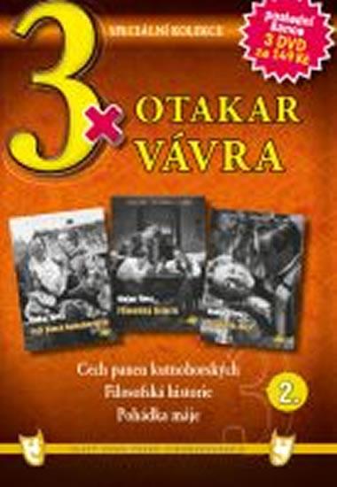 3x DVD - Otakar Vávra 2. - neuveden - 14,9x21