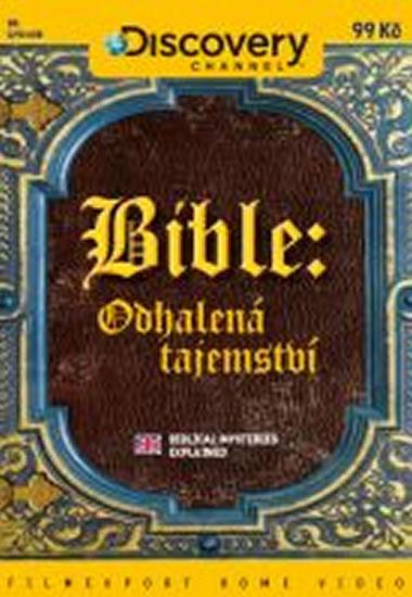 Bible: Odhalená tajemství - DVD digipack - neuveden - 13,8x18,6