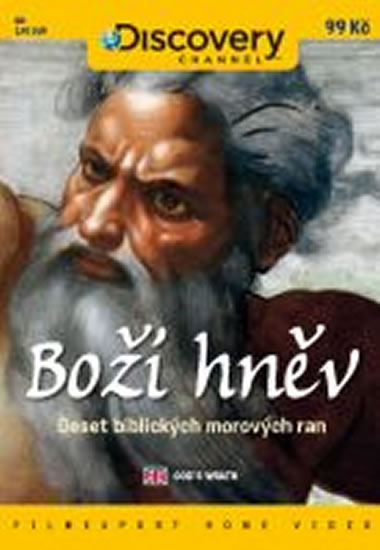Boží hněv: Deset biblických morových ran - DVD digipack - neuveden - 13,8x18,6