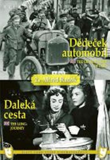 Dědeček automobil/Daleká cesta - (2 filmy na 1 disku) - DVD box - neuveden - 13,5x19