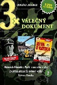 3x DVD - Válečný dokument 2.
