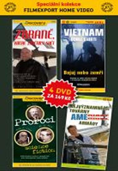 DVD set - Discovery 1.- 4. - neuveden - 14,9x29,7