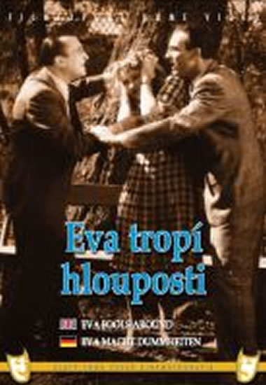 Eva tropí hlouposti - DVD box - neuveden - 13,5x19