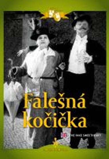 Falešná kočička (1926) - DVD digipack, němý film s Vlastou Burianem - neuveden - 13,8x18,6