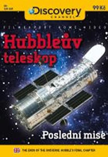 Hubbleův teleskop: Poslední mise - DVD digipack - neuveden - 13,8x18,6