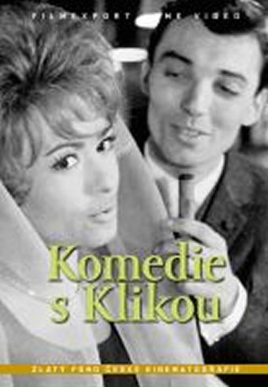 Komedie s Klikou - DVD box - neuveden - 13,5x19