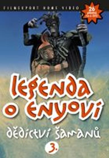 Legenda o Enyovi 3. - DVD - neuveden - 13,8x18,6