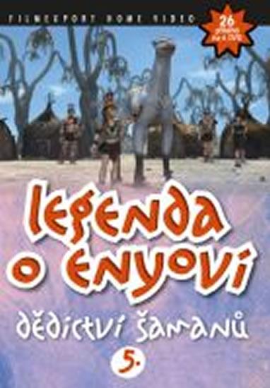 Legenda o Enyovi 5 - DVD - neuveden - 13,8x18,6