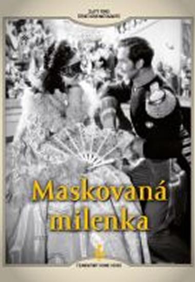Maskovaná milenka - DVD digipack - neuveden - 13,8x18,6