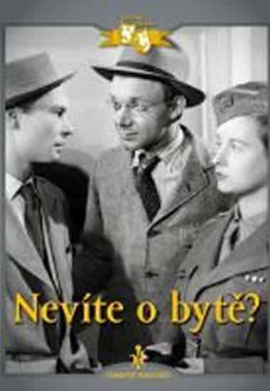 Nevíte o bytě? - DVD digipack - neuveden - 13,8x18,6