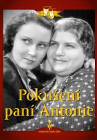 Pokušení paní Antonie - DVD digipack - neuveden - 13,8x18,6
