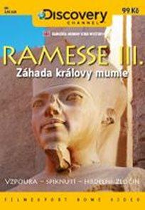 Ramesse III.: Záhada královy mumie - DVD digipack