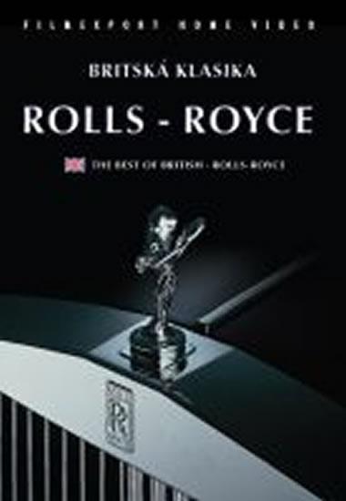 Rolls-Royce - Britská klasika - DVD box - neuveden - 13,5x19