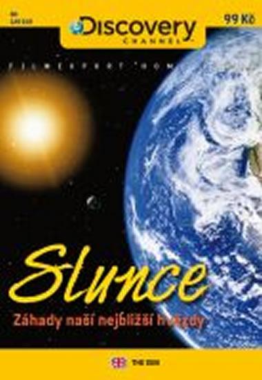 Slunce: Záhady naší nejbližší planety - DVD digipack - neuveden - 13,8x18,6
