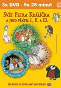 Svět Petra Králíčka a jeho přátel I.- III. - 3 DVD v rukávu