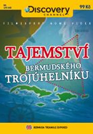 Tajemství bermudského trojúhelníku - DVD digipack - neuveden - 13,8x18,6