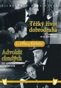 Těžký život dobrodruha/Advokát chudých (2 filmy na 1 disku) - DVD box