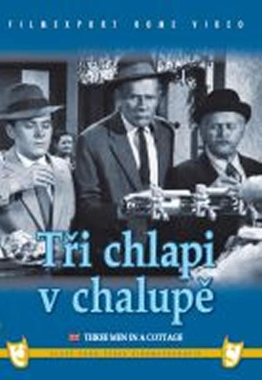 Tři chlapi v chalupě - DVD box - neuveden - 13,5x19