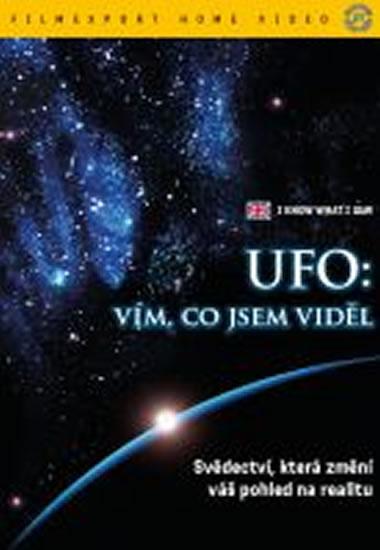 UFO: Vím co jsem viděl - DVD digipack - neuveden - 13,8x18,6