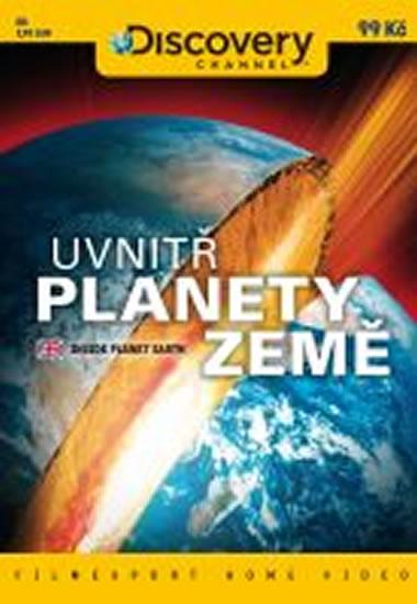 Uvnitř planety Země - DVD digipack - neuveden - 13,8x18,6